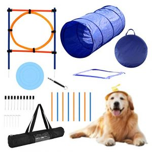YON.SOU. Large Dog Agility Training Equipment Obstacle Course TrainingLarge Dog Agility