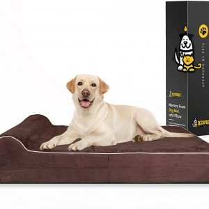 Large Dog Bed 7-inch Thick High Grade Orthopedic Memory Foam
