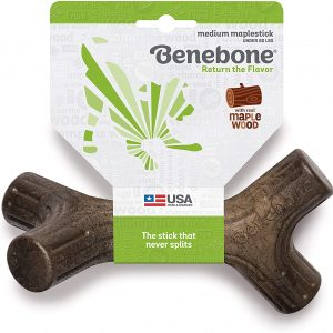 Benebone Maplestick/Bacon Stick Durable Large Dog Chew Toy