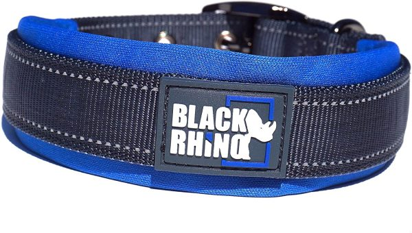 LBlack Rhino Large Dog Collar XLarge Dog Collars