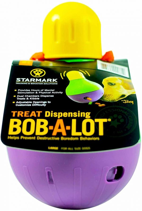 StarMark Bob-A-Lot Interactive Large Dog Toy