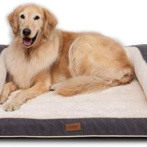 EMME Dog Bed for Large Dogs Orthopedic