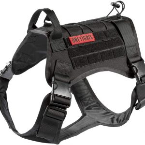 OneTigris Tactical Large Dog Harness Vest with Handle