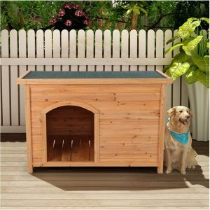 Outdoor Wooden Large Dog House