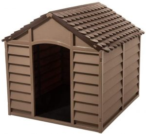Starplast Mocha Brown Large Dog House