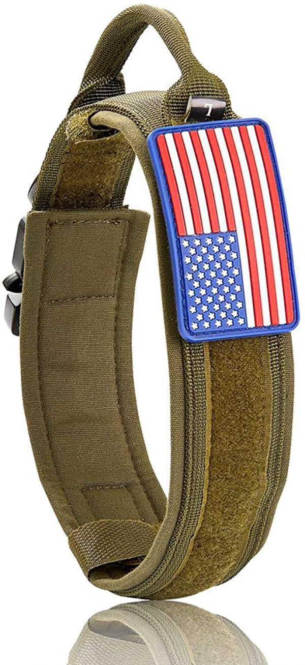 W/W Lifetime Tactical Large Dog Collar